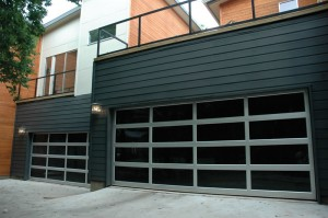 Amazing Contemporary Style Glass Garage Door Sacramento Ca